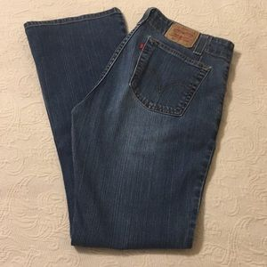 Levi's Nouveau 525 Boot Cut Jeans